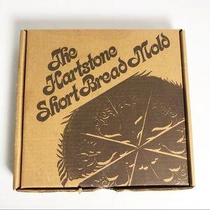 """Vintage 90's Hartstone Shortbread Mold 10"""""""